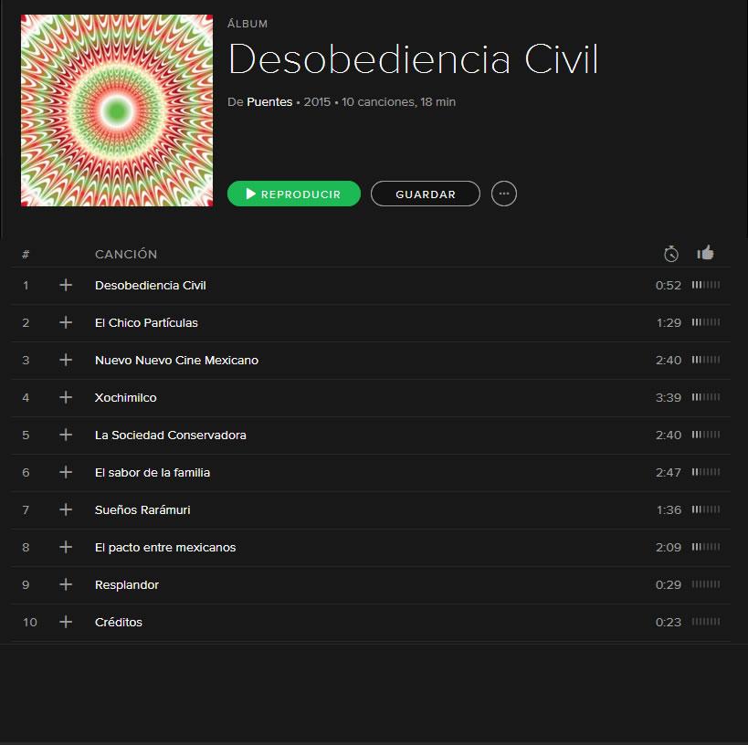 Spotify invita a un acto de Desobediencia Civil ¡Conócelo! - Spotify-Desobediencia-Civil