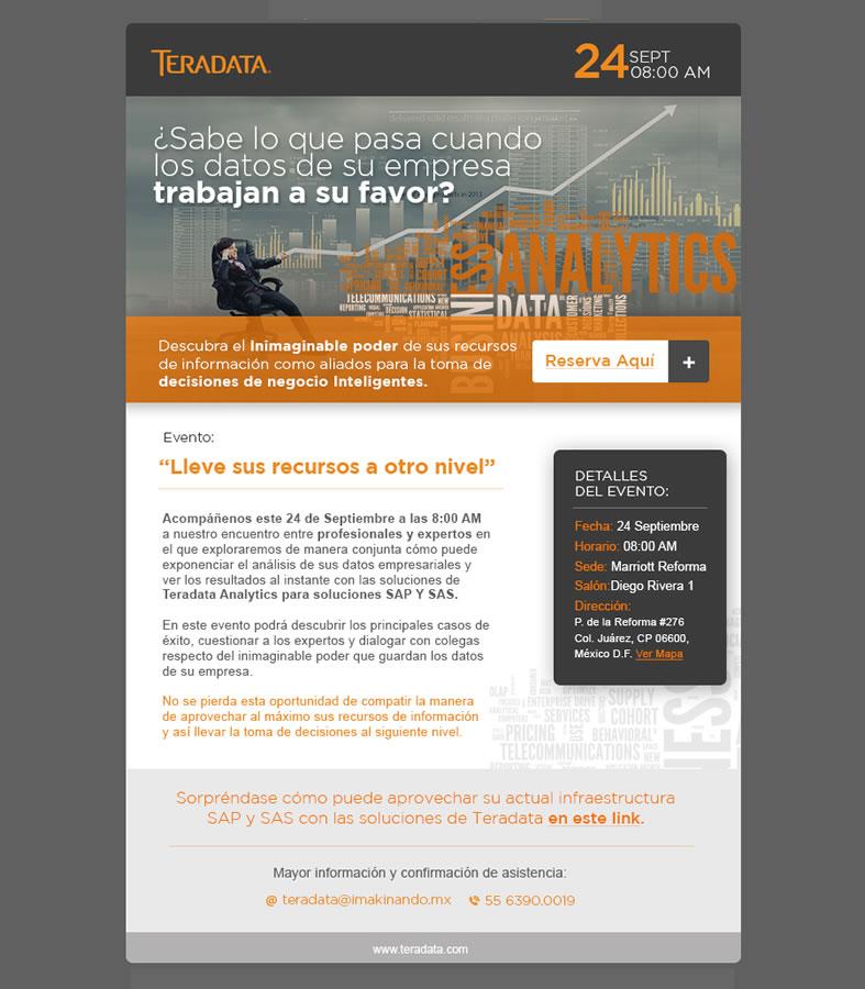 Workshops Teradata, errores que cuestan posicionamiento de mercado - TERADATA-2015-evento