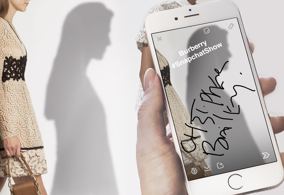Burberry introduce el primer Snapchat Show - The-Burberry-Snapchat-Show