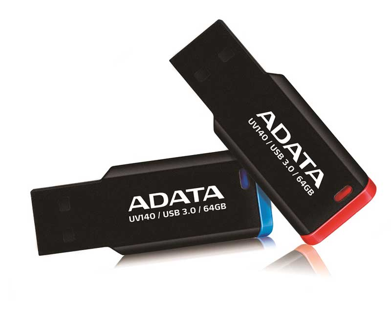ADATA lanza USB 3.0 Flash Drive con clip - UV140