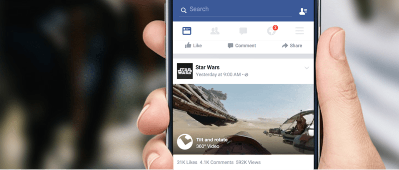Facebook introduce los videos en 360 grados, ¿ya los probaste? - facebook-360-videos-800x341