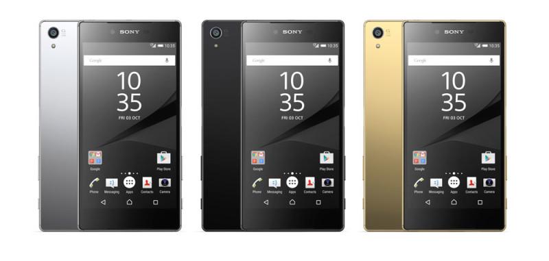 Sony Xperia Z5 Premium, el primer smartphone con pantalla 4k - xperia-z5-ultra-colores-800x381
