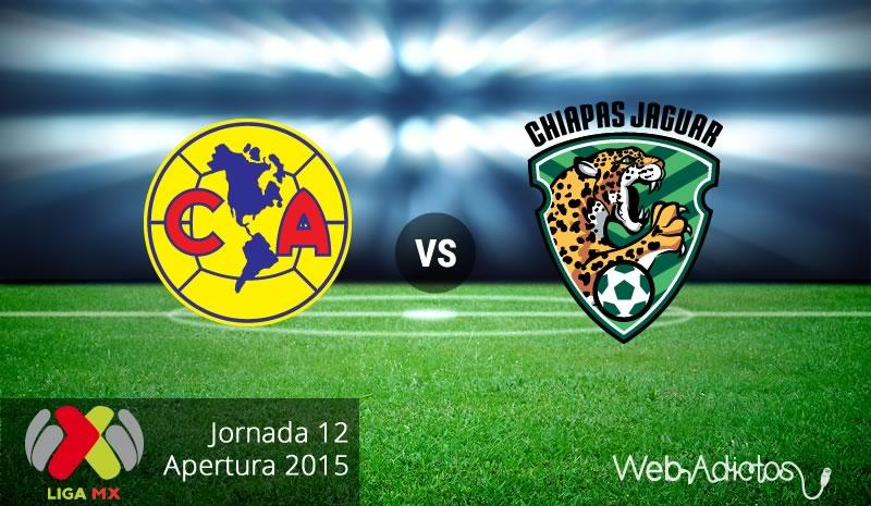 América vs Jaguares, Jornada 12 del Apertura 2015 - America-vs-Jaguares-Apertura-20151