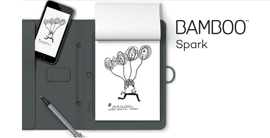 Wacom presenta Tinta y Papelería Digital - Bamboo-Sparkwacom