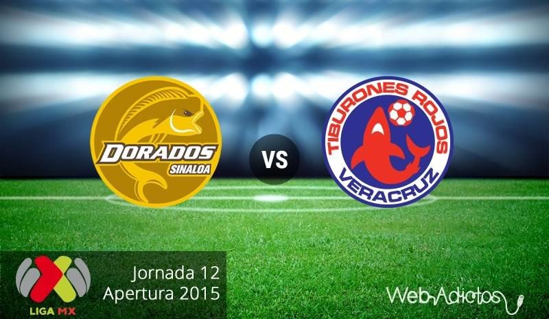 Dorados vs Veracruz en el Apertura 2015 - Dorados-vs-Veracruz-Apertura-2015