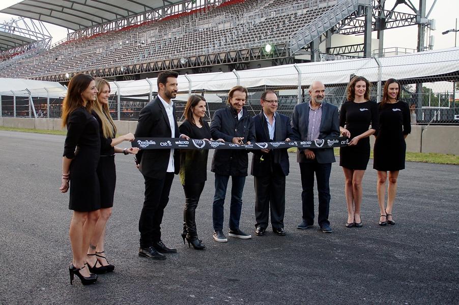 Se celebró la vuelta cero en la repertura de la pista del Autódromo Hermanos Rodríguez - Emerson-Fittipaldi-Embajador-del-Autodromo-Hermanos-Rodriguez
