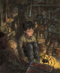 "Apple lanza nuevas ediciones de e-books de ""Harry Potter"" - Harry-Potter-hiperrealista"