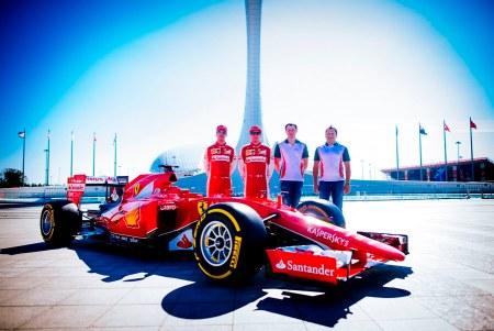 Kaspersky Lab renueva patrocinio con Scuderia Ferrari