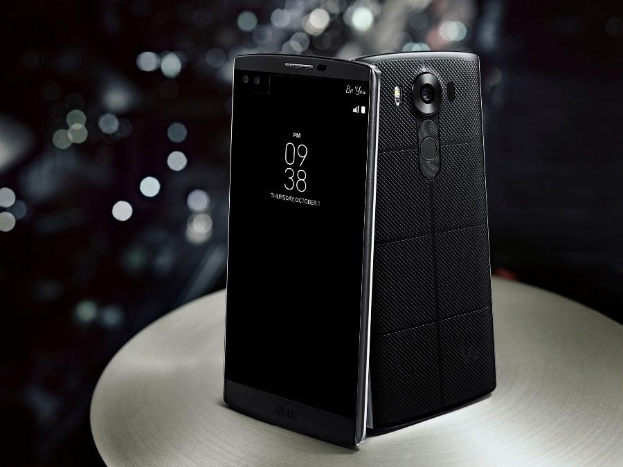 LG lanza el smartphone V10, integra lo más sofisticado en tecnología - LG-V10-Black-01