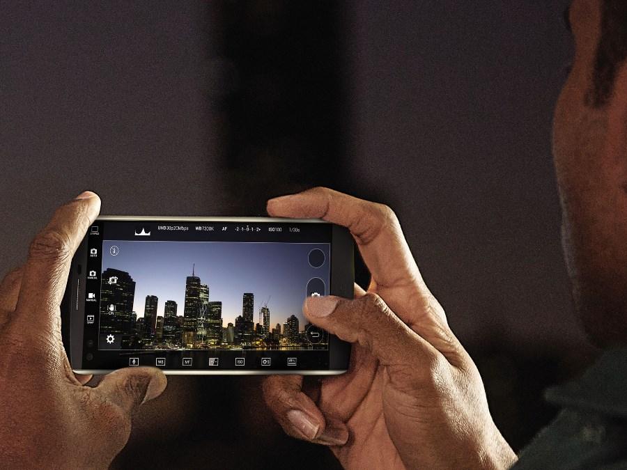LG lanza el smartphone V10, integra lo más sofisticado en tecnología - LG-V10-Manual-Camera-Mode