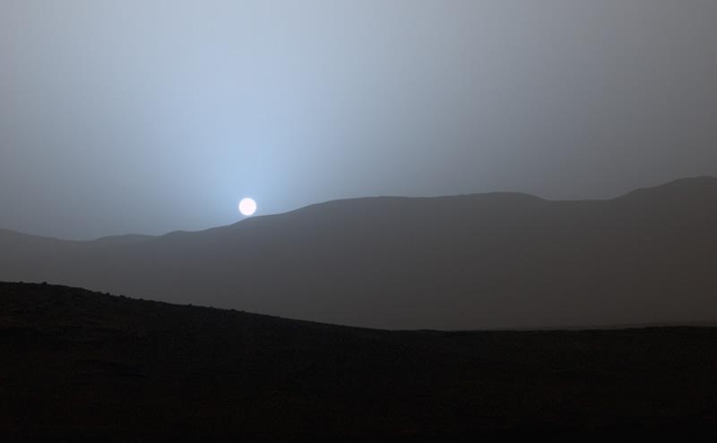 Conoce el proyecto mexicano para habitar Marte - Puesta-de-sol-en-marte-proyecto-habitar-marte-mexicano