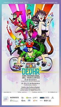 DEVHR, Foro Internacional del Videojuego dará inicio a México City Game Week