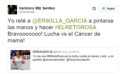 El Reto Rosa invade las redes sociales - el_reto_rosa_twitter