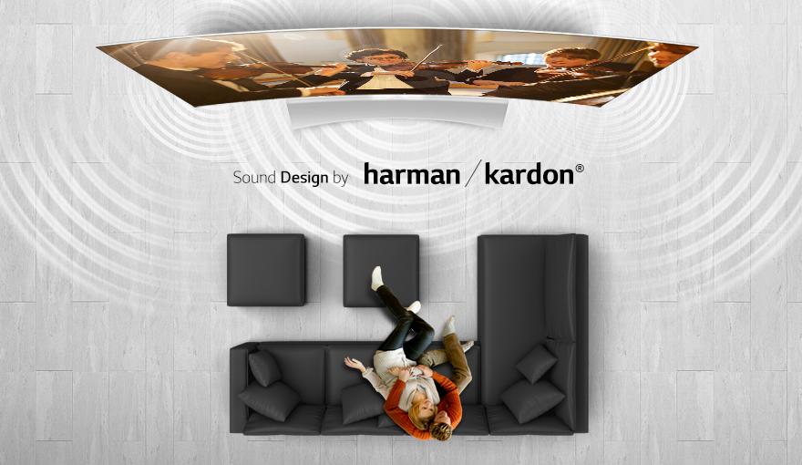 LG presentó contenido HDR en OLED 4K TV - lg-oled-tv-Sound-designed-by-harman-kardon-