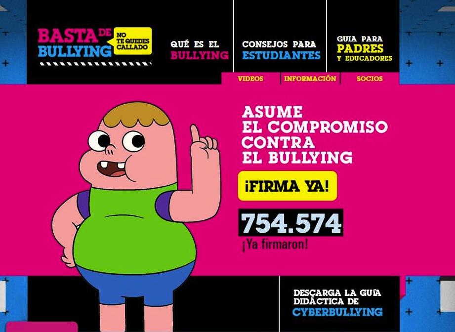 cartoon network anuncia campana contra el bullying Cartoon Network anuncia campaña contra el Bullying
