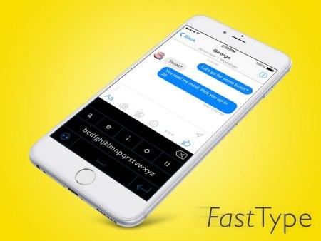 Fast Type para iPhone lanza campaña de fondeo en Kickstarter