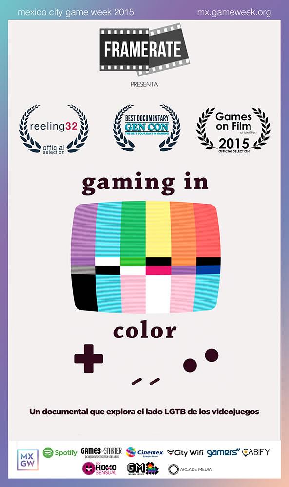 Gaming in Color, documental sobre la comunidad gamer LGTB se estrena en México - gaming-in-color-documental