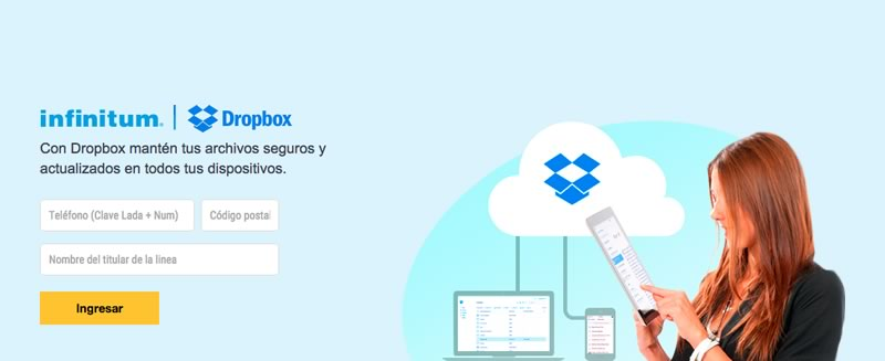 Telmex y Dropbox regalan 5GB a clientes infinitum - infinitum-dropbox-5gb