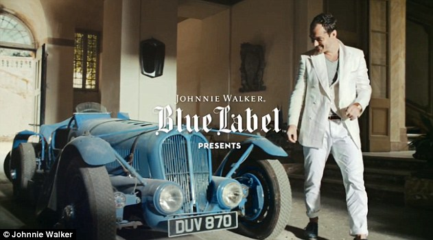 johnnie walker the gentleman JW Blue Label presenta en México The Gentleman's Wager II