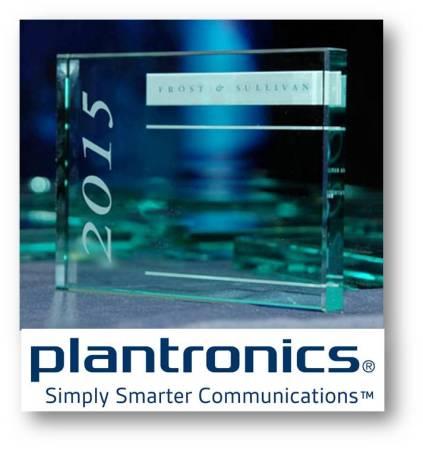 Plantronics recibe el premio Frost & Sullivan 2015