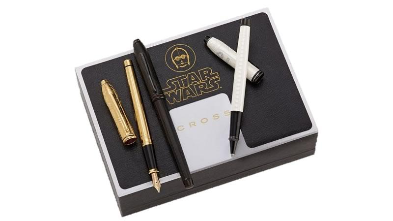 Lanzan plumas edición especial de Star Wars ¡Las vas a querer todas! - plumas-de-star-wars-cross