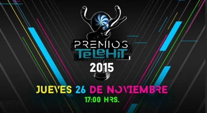No te pierdas los Premios Telehit 2015 por Internet - telehit