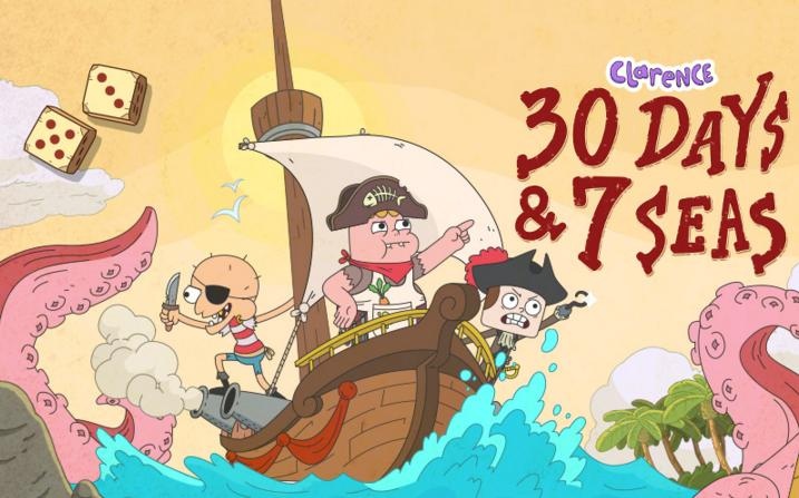 Cartoon Network lanza la primera aplicación en LATAM de CLARENCE - treinta-dias-y-siete-mares-cartoon-network-aplicacion-de-clarence