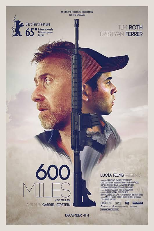 Se estrena en México la película 600 Millas - 600-miles