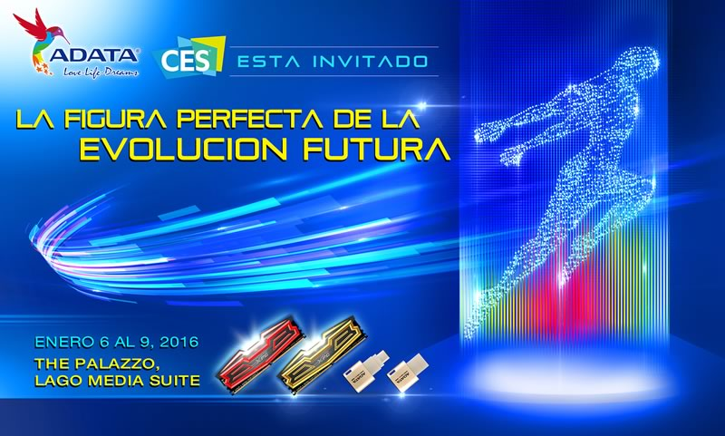 ADATA anuncia los dispositivos que presentará en el CES 2016 - adata-ces-2016