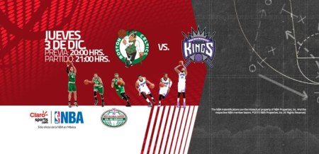 Celtics vs Kings, juego de la NBA en México 2015