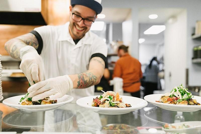 dropbox tuck shop 800x533 Restaurante de las oficias de Dropbox recibe reconocimiento gastronómico