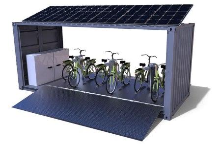 Mexicano en Francia diseña estación de bicicletas eléctricas que se recargan de forma inalámbrica