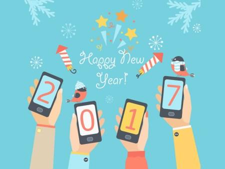 5 apps para festejar un feliz año nuevo 2017