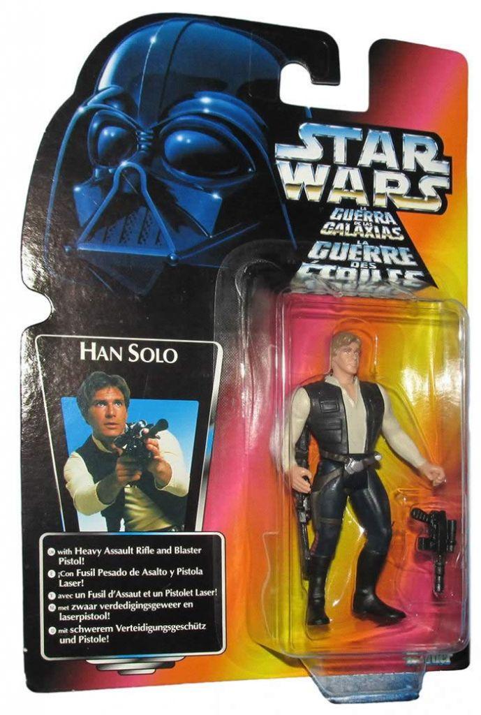Las figuras de acción de Star Wars más valiosas que puedes encontrar en eBay - han-solo