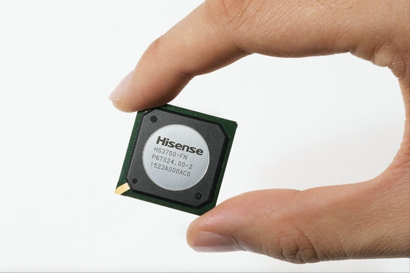 Hisense lanza su primer chip para placa de video para Smart TV - hisense-chip-para-smart-tv