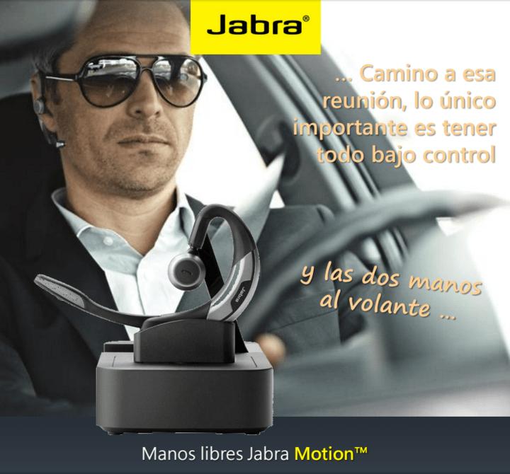 Jabra presenta su familia de manos libres - jabra-motion