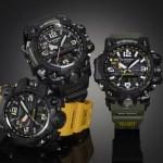 G-Shock presenta Mudmaster, el reloj todoterreno - modelos-de-g-shock-mudmaster