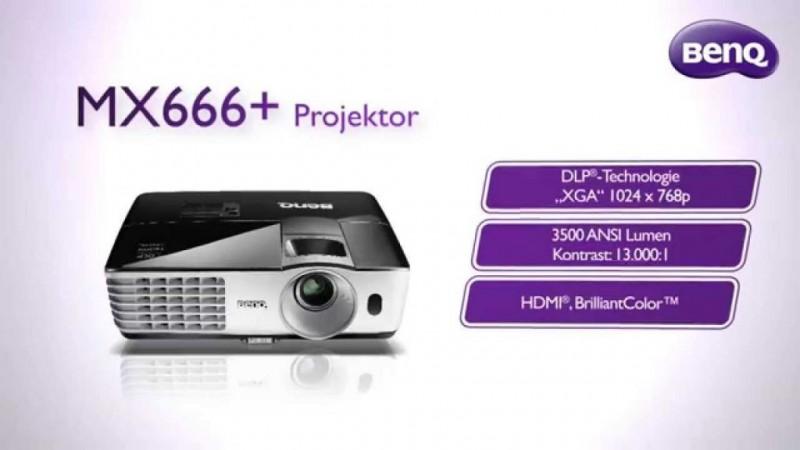 proyector benq mx666 800x450 Proyectores de negocio BenQ cuentan con tecnología NFC de transmisión inalámbrica