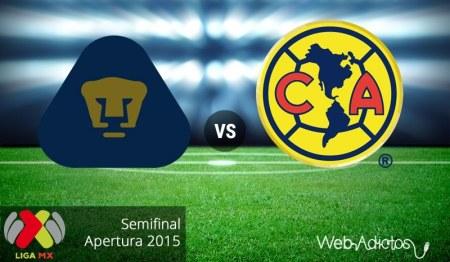 Pumas vs América, Semifinal del Apertura 2015 | Partido de vuelta