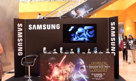 Samsung México y Star Wars se unen para que vivas el despertar de la Fuerza
