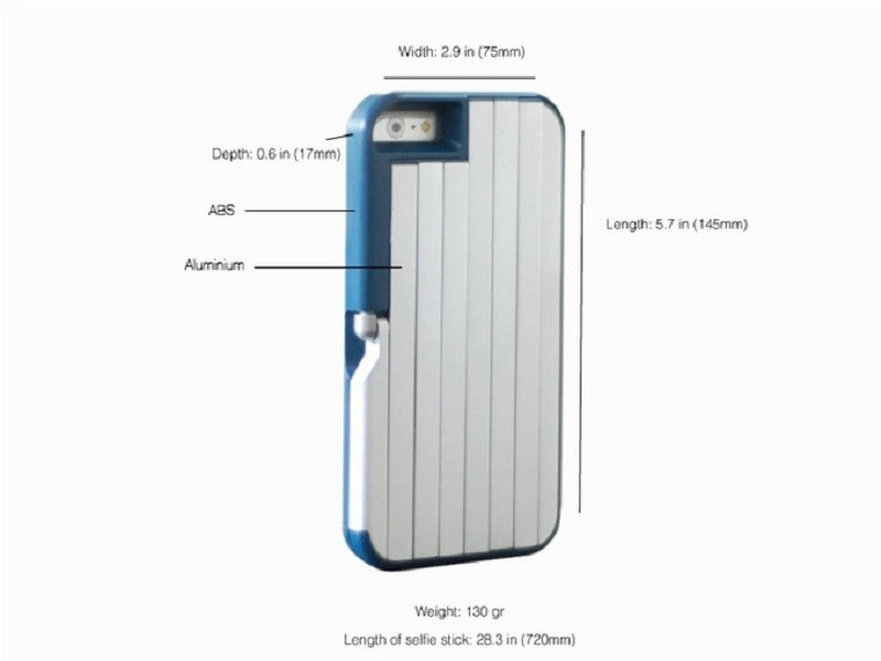 StikBox, la case que se convierte en selfie stick - stikbox-800x600