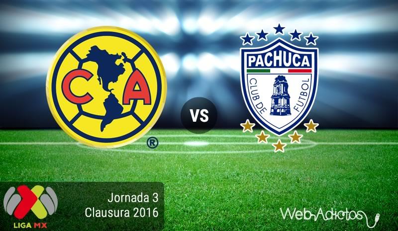 América vs Pachuca, Jornada 3 del Clausura 2016   Liga MX - america-vs-pachuca-clausura-2016