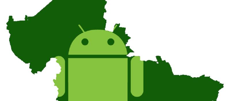 México, lugar 34 en descargas de apps Android - android-mexico-800x353