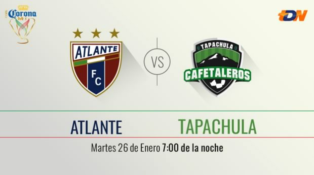 Cruz Azul vs Venados, Fecha 2 de Copa MX Clausura 2016 - atlante-vs-tapachula-copa-mx-clausura-2016-1