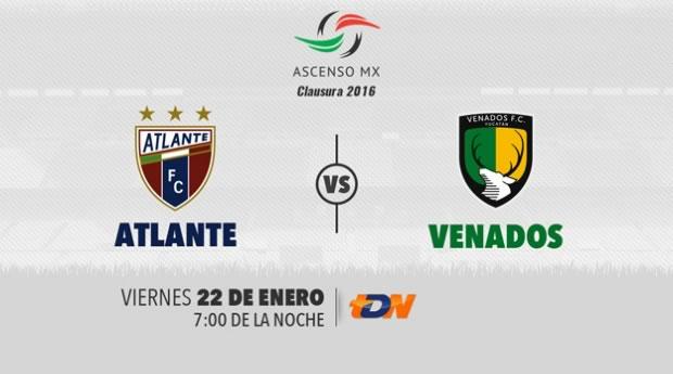 Atlante vs Venados, Ascenso MX Clausura 2016   Jornada 3 - atlante-vs-venados-ascenso-mx-clausura-2016-por-tdn
