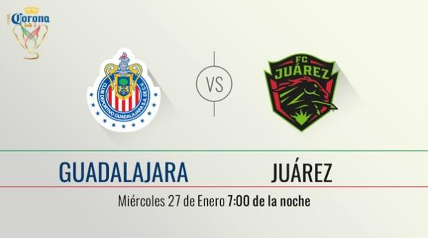Chivas vs Juárez, Jornada 2 de la Copa MX Clausura 2016 - chivas-vs-juarez-por-tdn-copa-mx-clausura-2016