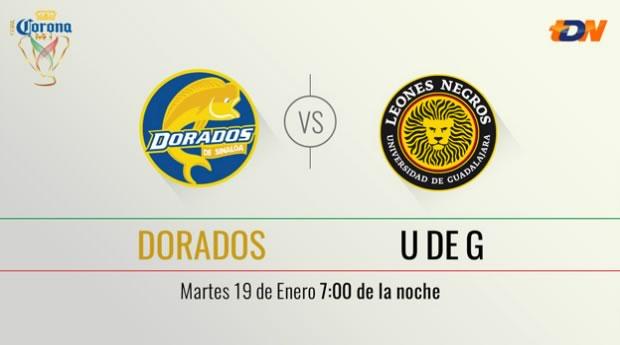 Dorados vs UDG, Copa MX Clausura 2016 ¡En vivo por internet! | Llave 1 - dorados-vs-udg-tdn-copa-mx-clausura-2016