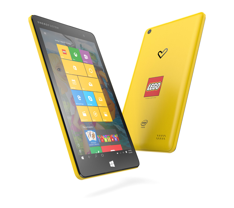 Energy Tablet 8'' Windows Lego Edition: un tablet para toda la familia - energy-tablet-lego-edition
