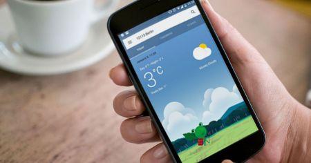 Google Now presenta un nuevo diseño para el clima