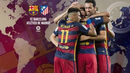 A qué hora juega Barcelona vs Atlético Madrid en la Liga (2016) y en qué canal verlo